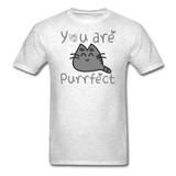 You Are Purrfect - Unisex Classic T-Shirt - light heather gray