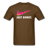 Just Donut v2 - Unisex Classic T-Shirt - brown