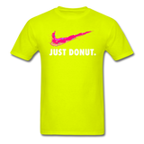 Just Donut v2 - Unisex Classic T-Shirt - safety green