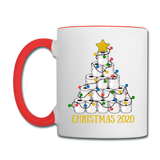 2020 - Christmas - Toilet Paper - Contrast Coffee Mug - white/red