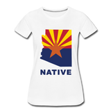 "Arizona ""NATIVE"" - Women's Premium T-Shirt - white"