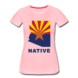 "Arizona ""NATIVE"" - Women's Premium T-Shirt - pink"