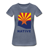 "Arizona ""NATIVE"" - Women's Premium T-Shirt - heather blue"