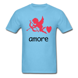Cupid - Amore - Unisex Classic T-Shirt - aquatic blue