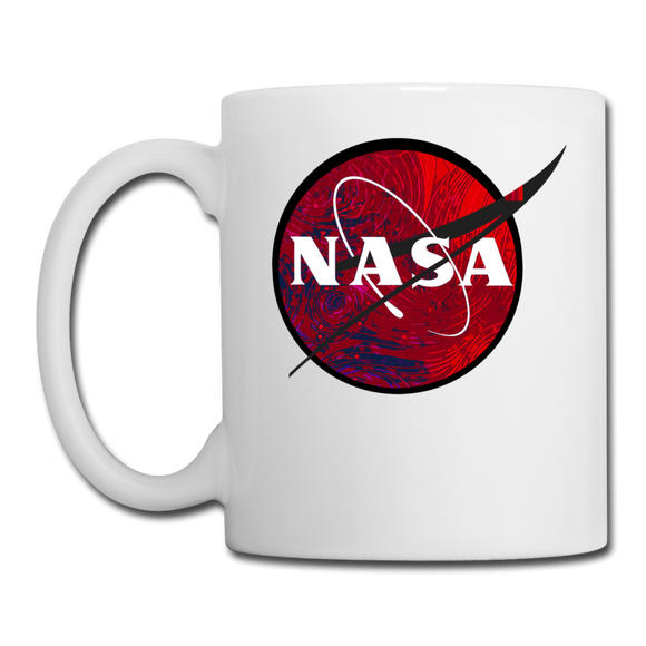 NASA - Red - Coffee/Tea Mug - white