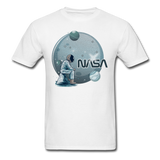 NASA - Astronaut And Planets - Unisex Classic T-Shirt - white