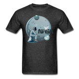 NASA - Astronaut And Planets - Unisex Classic T-Shirt - heather black