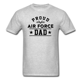Proud Air Force - Dad - Unisex Classic T-Shirt - heather gray