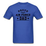 Proud Air Force - Dad - Unisex Classic T-Shirt - royal blue