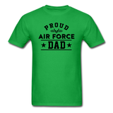 Proud Air Force - Dad - Unisex Classic T-Shirt - bright green