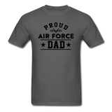 Proud Air Force - Dad - Unisex Classic T-Shirt - charcoal