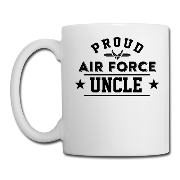 Proud Air Force - Uncle - Coffee/Tea Mug - white