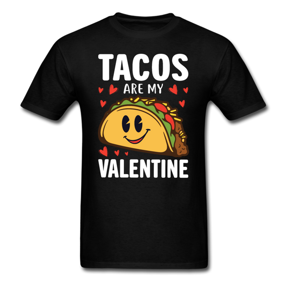 Tacos Are My Valentine v2 - Unisex Classic T-Shirt - black