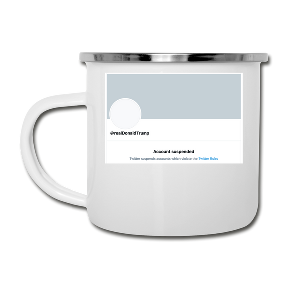 Account Suspended - Camper Mug - white