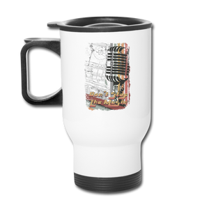 Don't Stop The Music - Travel Mug - white