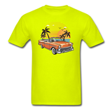 Chevy On The Beach - Unisex Classic T-Shirt - safety green