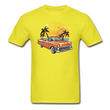 Chevy On The Beach - Unisex Classic T-Shirt - yellow