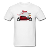 Hot Rod - Side View - Unisex Classic T-Shirt - white