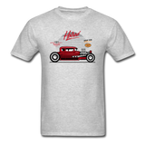 Hot Rod - Side View - Unisex Classic T-Shirt - heather gray