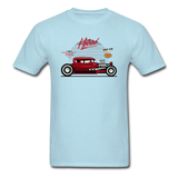 Hot Rod - Side View - Unisex Classic T-Shirt - powder blue