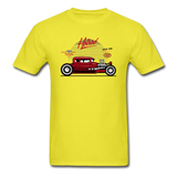 Hot Rod - Side View - Unisex Classic T-Shirt - yellow