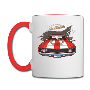 I'm Not Old - Camaro - Contrast Coffee Mug - white/red