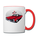 Ride The Classic - GTO - Contrast Coffee Mug - white/red