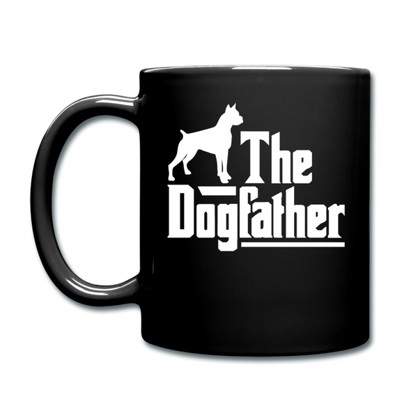 The Dog Father - White - Full Color Mug - black
