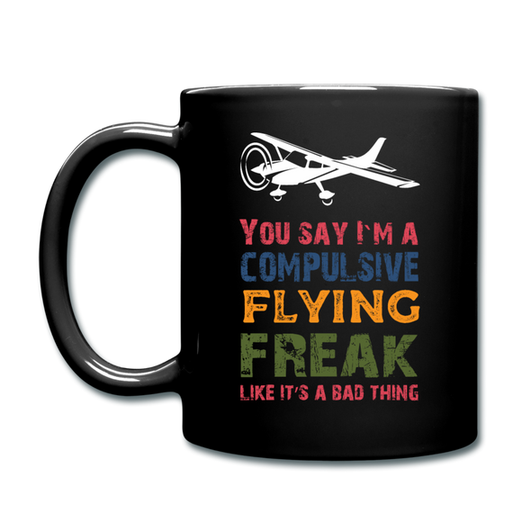 Flying Freak - Full Color Mug - black