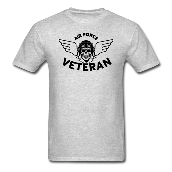 Air Force Veteran - Black - Unisex Classic T-Shirt - heather gray