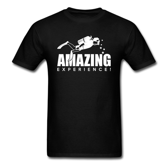 Amazing Experience - Scuba Diving - White - Unisex Classic T-Shirt - black