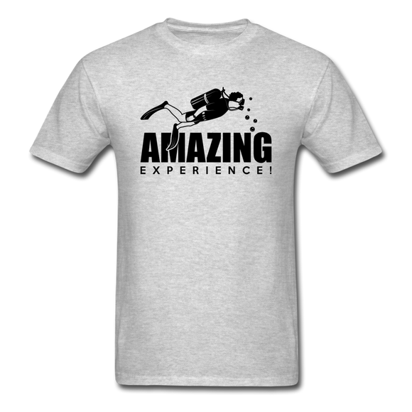 Amazing Experience - Scuba Diving - Black - Unisex Classic T-Shirt - heather gray