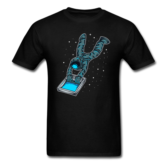 Astronaut - Screen - Unisex Classic T-Shirt - black