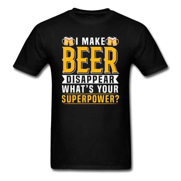 Superpower - Make Beer Disappear - Unisex Classic T-Shirt - black