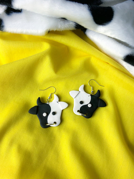 Yin & Yang Cows - Black & White