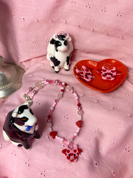 Flirty Cow Necklace