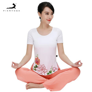 Yoga Blouses Women's Fitness Suit Sizws M-L-XL