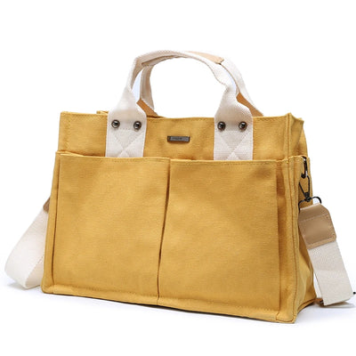 Oversized Casual Canvas Bag