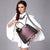 Patent leather wild handbag