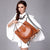 SUROTAMA vintage oil wax handbag
