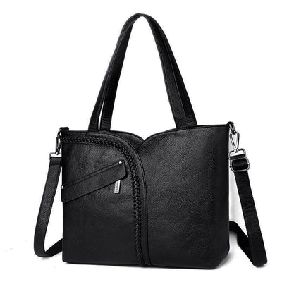 Large Casual Leather Tote