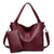 Large capacity casual shoulder bag