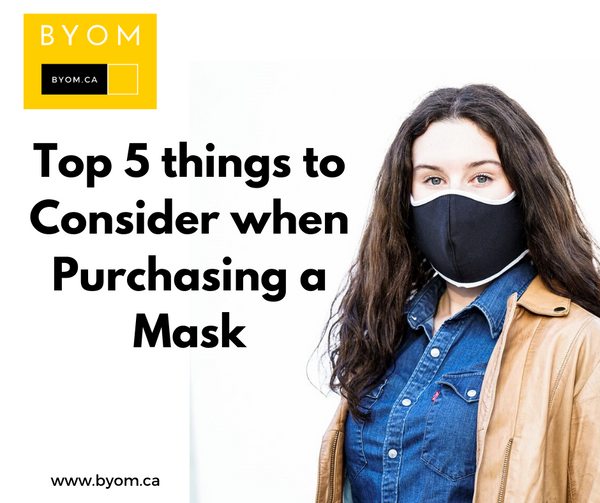 Top 5 things to Look for in a Mask