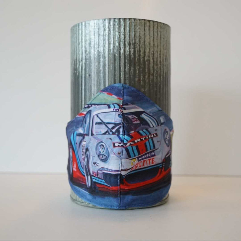 MARTINI RACING FINE ART FASHION GRAPHIC MASK - BYOM.CA | BRING YOUR OWN MASK