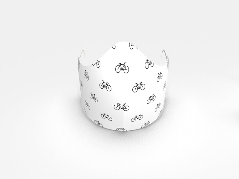 BIKERIDE FASHION GRAPHIC MASK - BYOM.CA | BRING YOUR OWN MASK