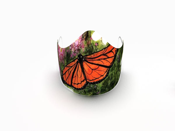 BEAUTIFUL MONARCH IN FLIGHT FINE ART FASHION GRAPHIC MASK - BYOM.CA | BRING YOUR OWN MASK