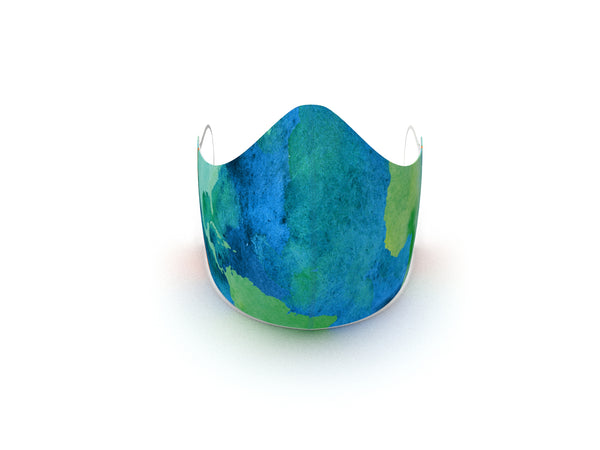 OUR EARTH FASHION GRAPHIC FABRIC MASK - 3 LAYER - BYOM.CA | BRING YOUR OWN MASK