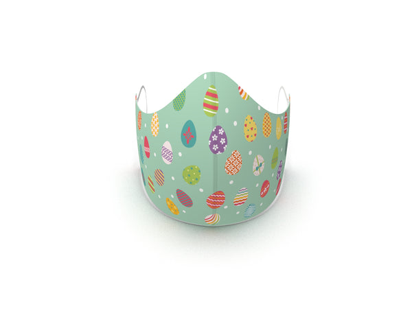 EASTER HUNT FASHION GRAPHIC MASK - AVAILABLE WEEK OF NOVEMBER 30 - BYOM.CA | BRING YOUR OWN MASK