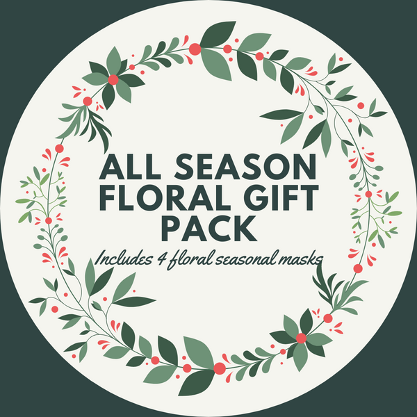 ALL SEASON FLORAL FASHION GRAPHIC MASK - BUNDLE - $25 SAVINGS - BYOM.CA | BRING YOUR OWN MASK