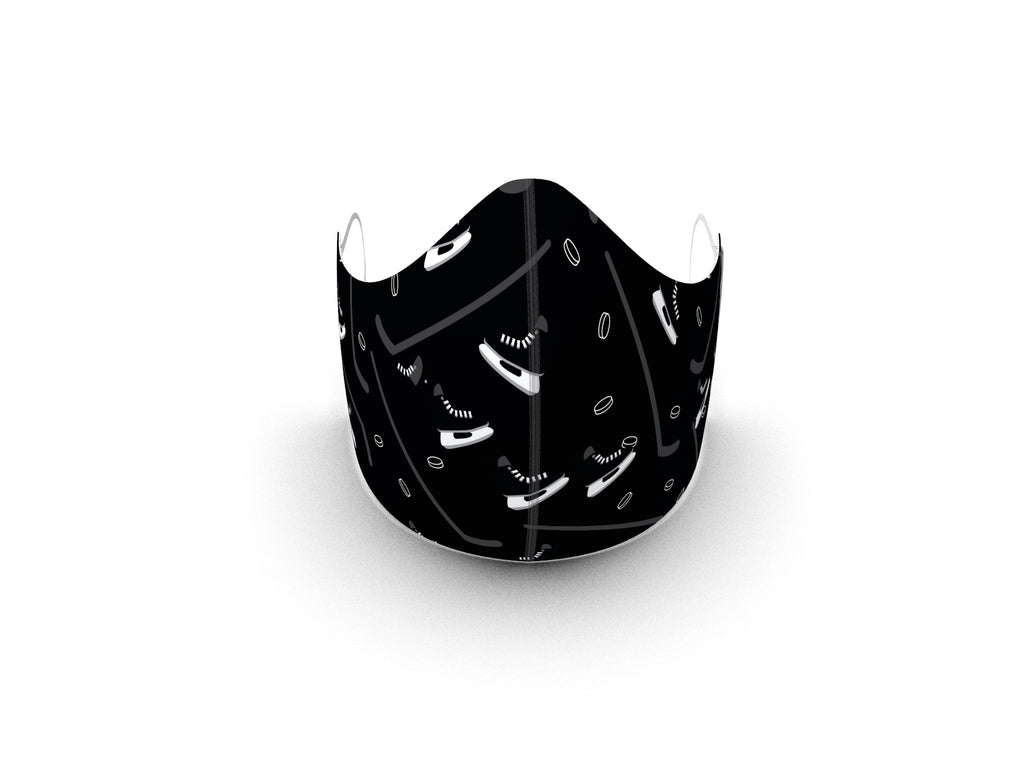 HOCKEY FASHION GRAPHIC KIDS MASK